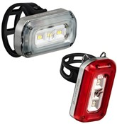 Product image for Blackburn Central 100 Front / 20 Rear Light Set