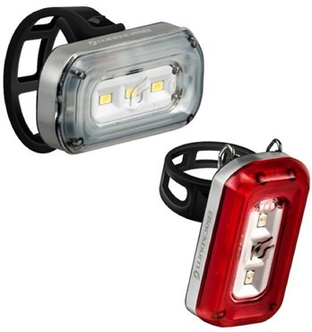 Image of Blackburn Central 100 Front / 20 Rear Light Set