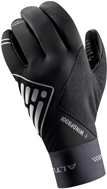 Image of Altura Peloton Progel Windproof Long Finger Cycling Gloves AW16