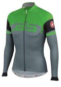 Product image for Castelli Unavolta FZ Long Sleeve Cycling Jersey AW15