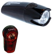 Smart Lunar 60 Lux Front with 1/2 Watt Rear Light Set