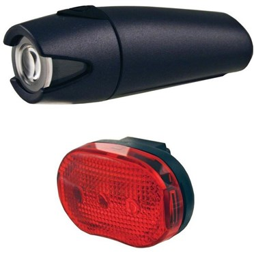 Smart 4 Lux Front with 3 LED Rear Light Set