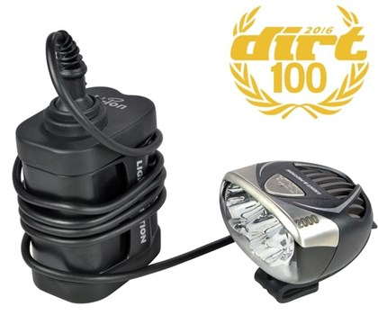 Light and Motion Seca 2000 6 Cell Enduro Rechargeable Front Light System