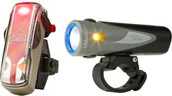 Urban 800 Anchor Steam & Vis 180 Bronze Twinpack Rechargeable Light Set