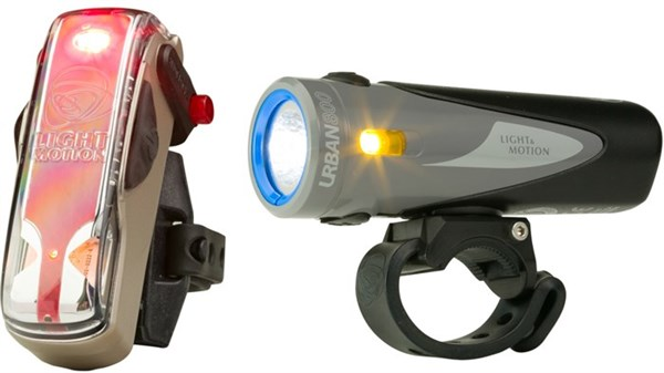 Light and Motion Urban 800 Anchor Steam & Vis 180 Bronze Twinpack Rechargeable Light Set
