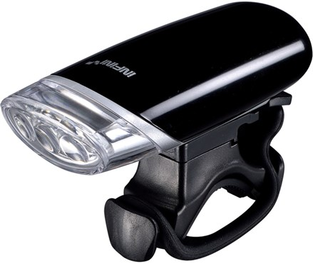 Infini Luxo 3 LED Front Light With Batteries and Bracket