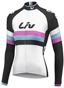 Liv Race Day Thermal Womens Long Sleeve Cycling Jersey
