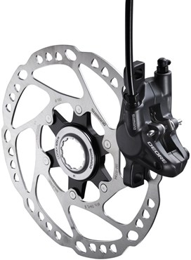 Shimano Deore Disc Brake Calliper - Without Adapter for Front or Rear BRM615