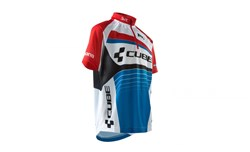 Product image for Cube Teamline Junior Short Sleeve Cycling Jersey