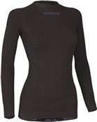 1st Layer Seemless Womens Long Sleeve Cycling Base Layer