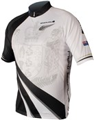 Endura Coolmax Printed New Zealand Short Sleeve Cycling Jersey