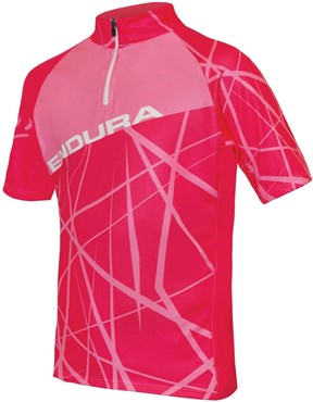 Endura Hummvee Ray Kids Short Sleeve Cycling Jersey AW16