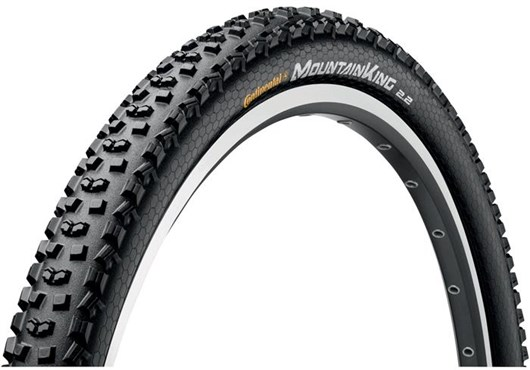 Image of Continental Mountain King II PureGrip 26 inch MTB Folding Tyre