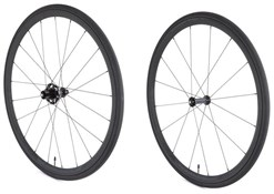 Product image for Vittoria Elusion Nero Ceramic SRAM/Shimano Alloy Clincher No Tool Freewheel Quick Release Wheelset