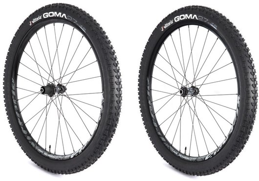 "Image of Vittoria Deamion All Mountain Pro 27.5"" Alloy MTB SRAM/Shimano No Tool Hub Centrelock Disc Mount MTB Wheelset"