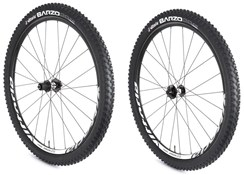 "Vittoria Creed XC 26"" Alloy Quick Release Shimano MTB Wheelset"