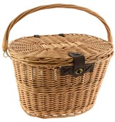 Ouick Release Wicker Basket with Lid