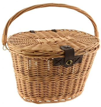 Image of Dawes Quick Release Wicker Basket with Lid