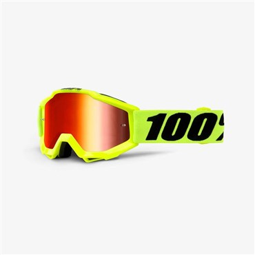 100% Accuri JR Youth Anti-Fog Mirror Lens MTB Goggles