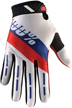 Image of 100% Ridefit Long Finger MTB Glove