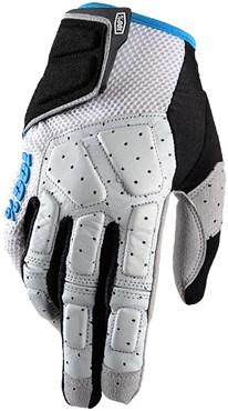 100% Simi Long Finger MTB Cycling Gloves SS18