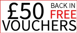 Free Voucher Worth £50