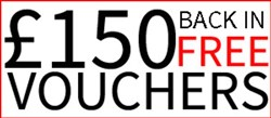 Free Voucher Worth £150