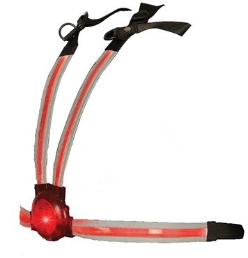 Oxford Commuter X4 Fibre Optic Rear Light