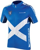 Product image for Endura CoolMax Printed Scotland II Short Sleeve Cycling Jersey SS17