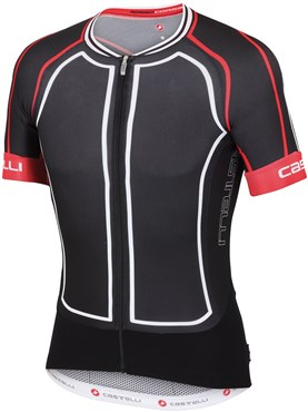Image of Castelli Aero Race 5.0 Short Sleeve Cycling Jersey