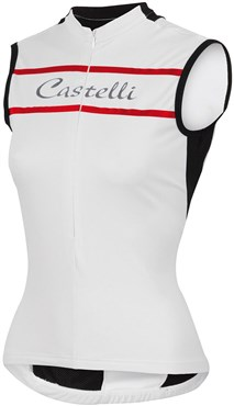 Castelli Promessa Womens Sleeveless Cycling Jersey SS16