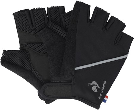 Image of Le Coq Sportif Buzot Short Finger Cycling Gloves
