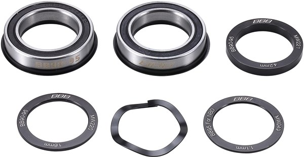 BBB BottomBear Bottom Bracket BB90 37mm for 24mm Axle