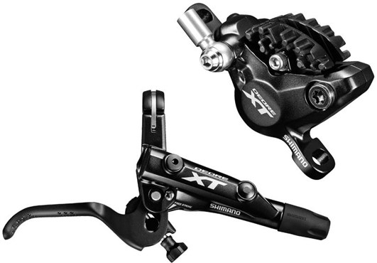 Shimano BR-M8000 XT Bled I-spec-II Compatible Brake Lever and Calliper - Post Mount