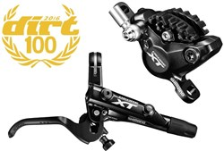 Product image for Shimano BR-M8000 XT Bled I-spec-II Compatible Brake Lever and Calliper - Post Mount