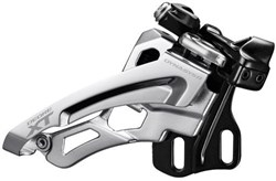 Product image for Shimano Deore XT M8000-D Triple Front Derailleur Side Swing Front Pull