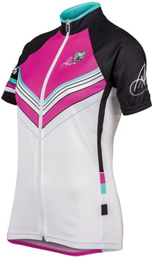 Image of Santini Anna Meares TDU Special Edition Standard Cut Womens Short Sleeve Jersey