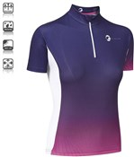 Tenn Womens By Design Short Sleeve Cycling Jersey SS16