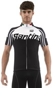 Santini Zest Full Zip Short Sleeve Jersey