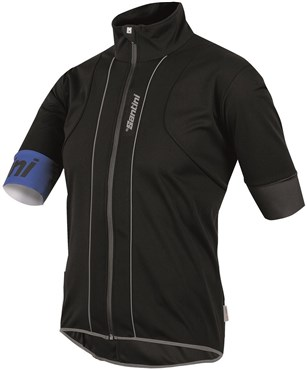 Santini Reef Water and Wind Resistant Short Sleeve Jersey
