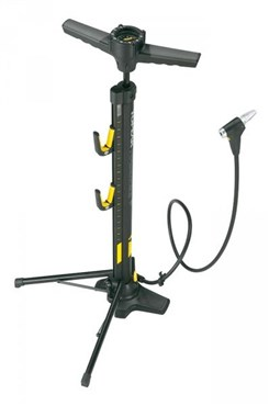 Image of Topeak Transformer X Portable Bike Stand/Floor Pump Combo