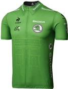 Le Coq Sportif Green Sprinter Leaders Short Sleeve Cycling Jersey 2015