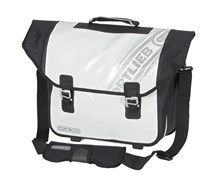 Ortlieb Downtown Black n White Rear Pannier Bag with QL2.1 Fitting System