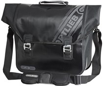 Product image for Ortlieb Downtown Black n White Rear Pannier Bag with QL2.1 Fitting System