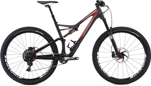 Image of Specialized Stumpjumper FSR Expert Carbon 29 Mountain Bike 2016 - Full Suspension MTB