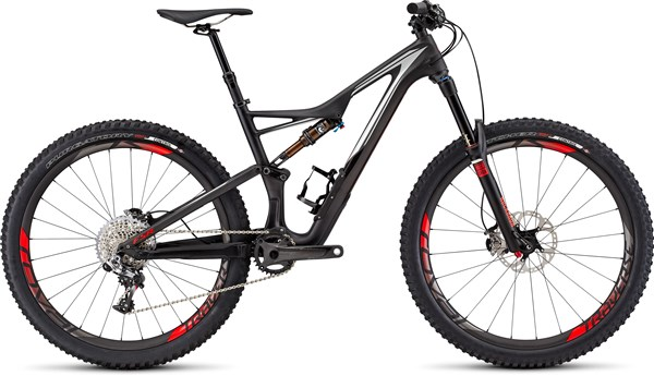 Image of Specialized S-Works Stumpjumper FSR 650b Mountain Bike 2016 - Full Suspension MTB