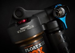 Fox Racing Shox Float X Air Shox Factory Series 3pos Lever with Adjustable - Kashima Rear Shock 2016