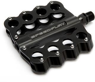 Image of Speedplay Brass Knuckles Chromoly Flat Pedals