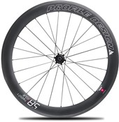 Product image for Profile Design 58 Twenty Four Full Carbon Clincher Wheel - Rear