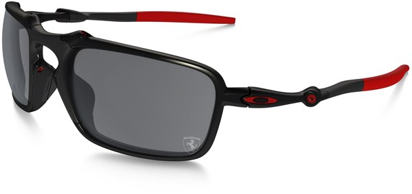 Image of Oakley Badman Scuderia Ferrari Collection Polarized Sunglasses